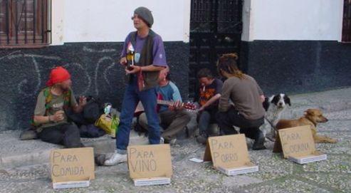 estos si son hippies buenos
